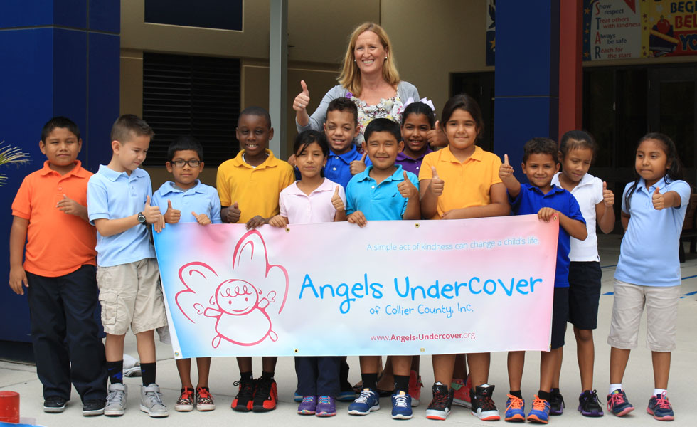 2014 Angels Undercover Back-to-School Clothing Delivery