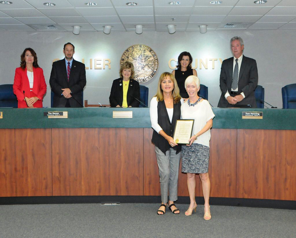 Angels Undercover recognized by Board of Collier County Commissioners